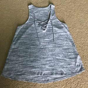 Hollister Lace-Up Tank